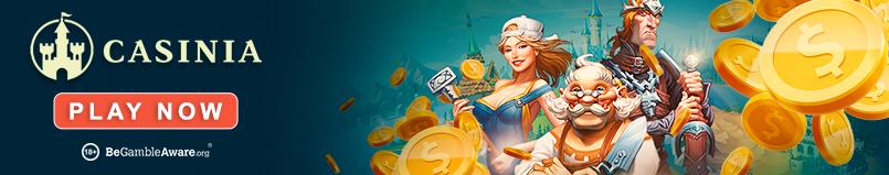 Casinia Casino Banner