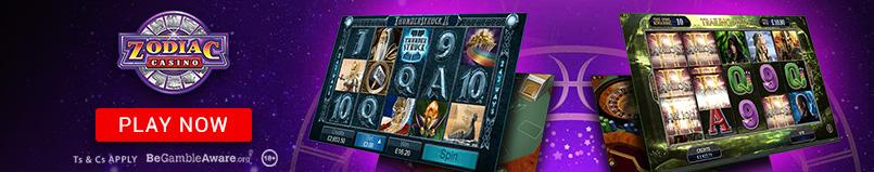 Zodiac Casino Banner
