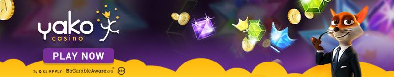 Yako Casino Banner