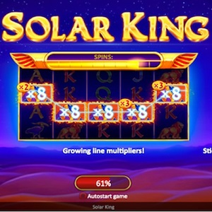 New Solar King Pokie Takes Players To Egypt